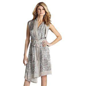 Dresses & Skirts - Antonio Melani 100% Silk Snake Print Wrap Dress